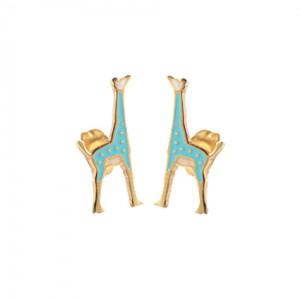 Lidyastee Zürafa Çelik Küpe CKU20130