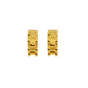 Lidyasteel Altın Renkli Çelik Küpe CKU2012
