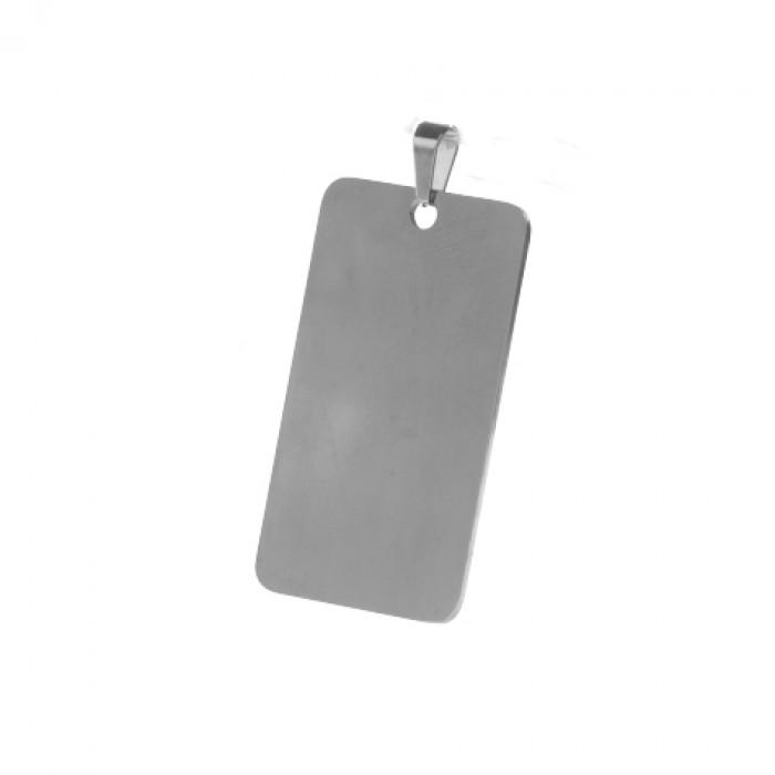 Lidyasteel Asker Künyesi Çelik Kolyeucu CKO20196